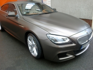 Udržujeme vozy s matnými laky - BMW6 GRAN COUPE